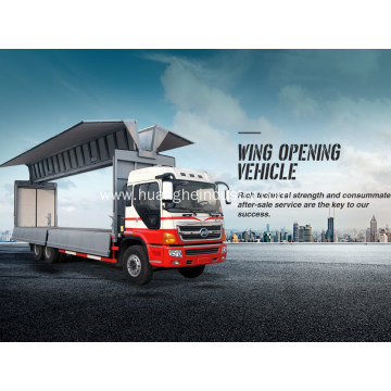 Wings Open Cargo Truck